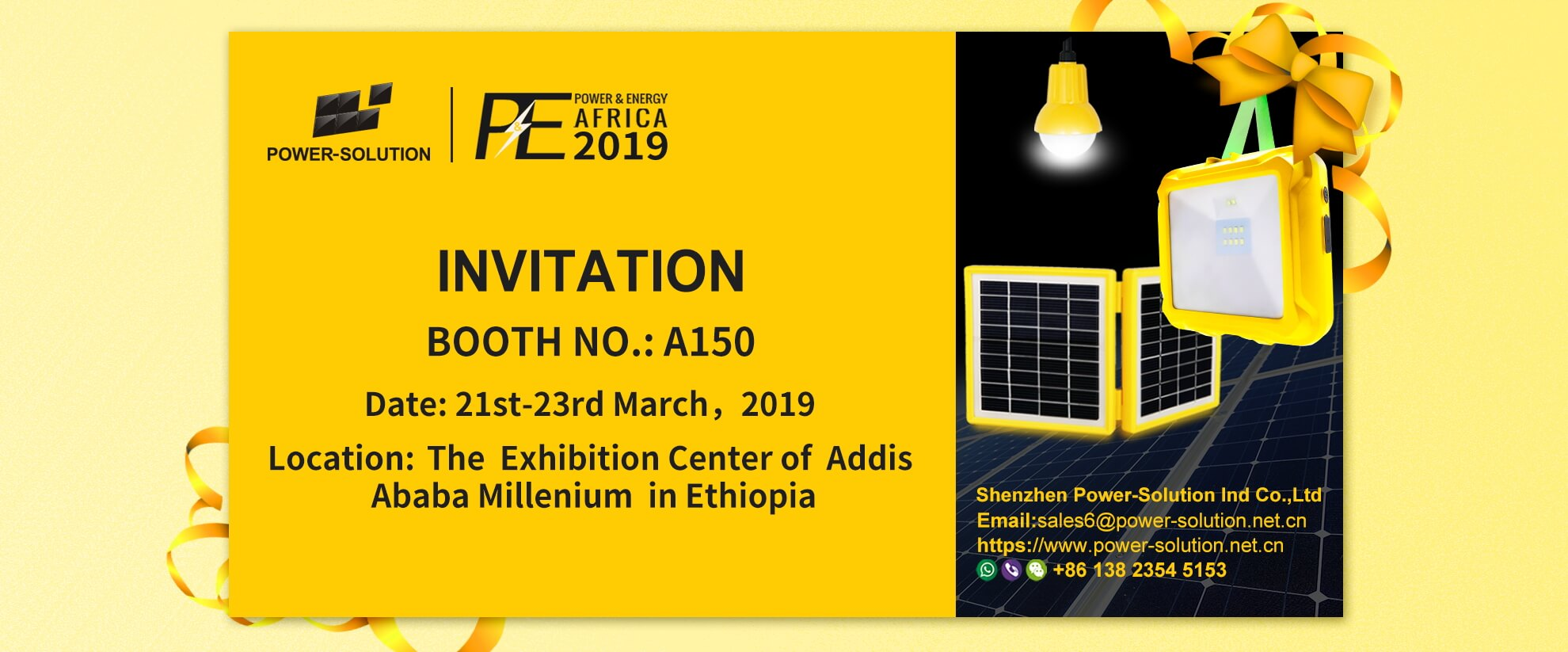2019 POWER & ENERGY Exhibition in Ethiopia