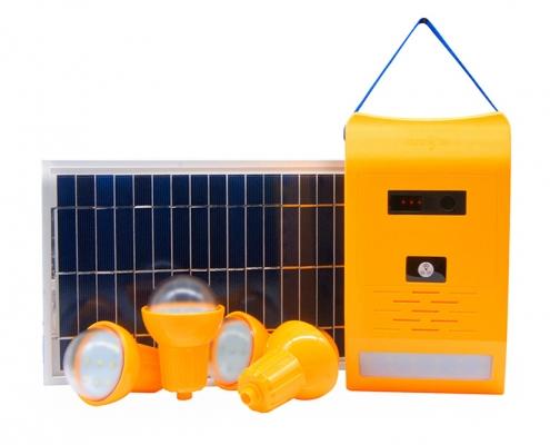 Kit de iluminación solar