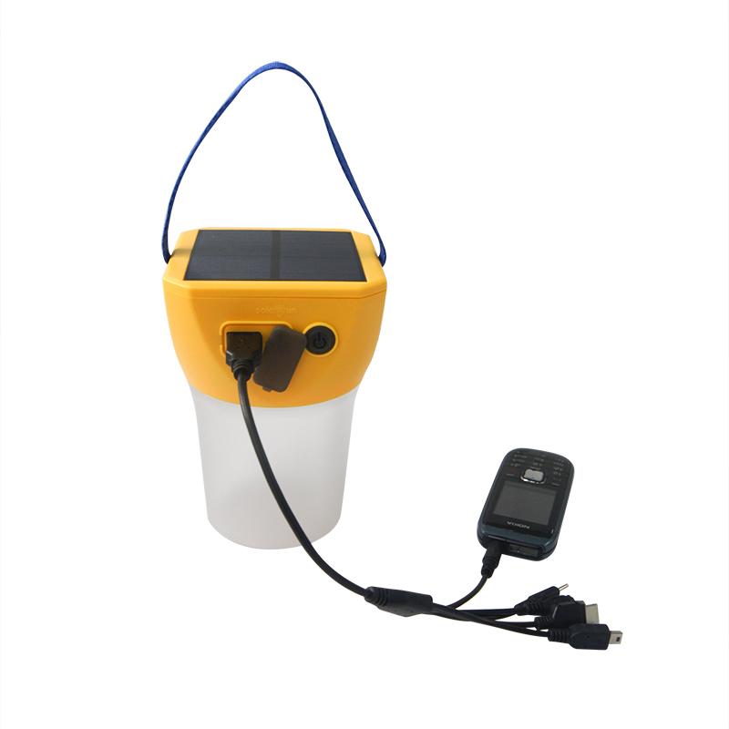 Solar Lantern with Phone Charging